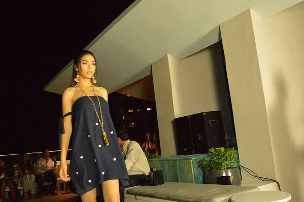 Resort wear stole the runway at the Amalfi Love fashion show. | MakersValley Blog