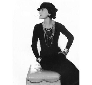 Coco Chanel forever changed womens fashion with the little black dress. | MakersValley Blog