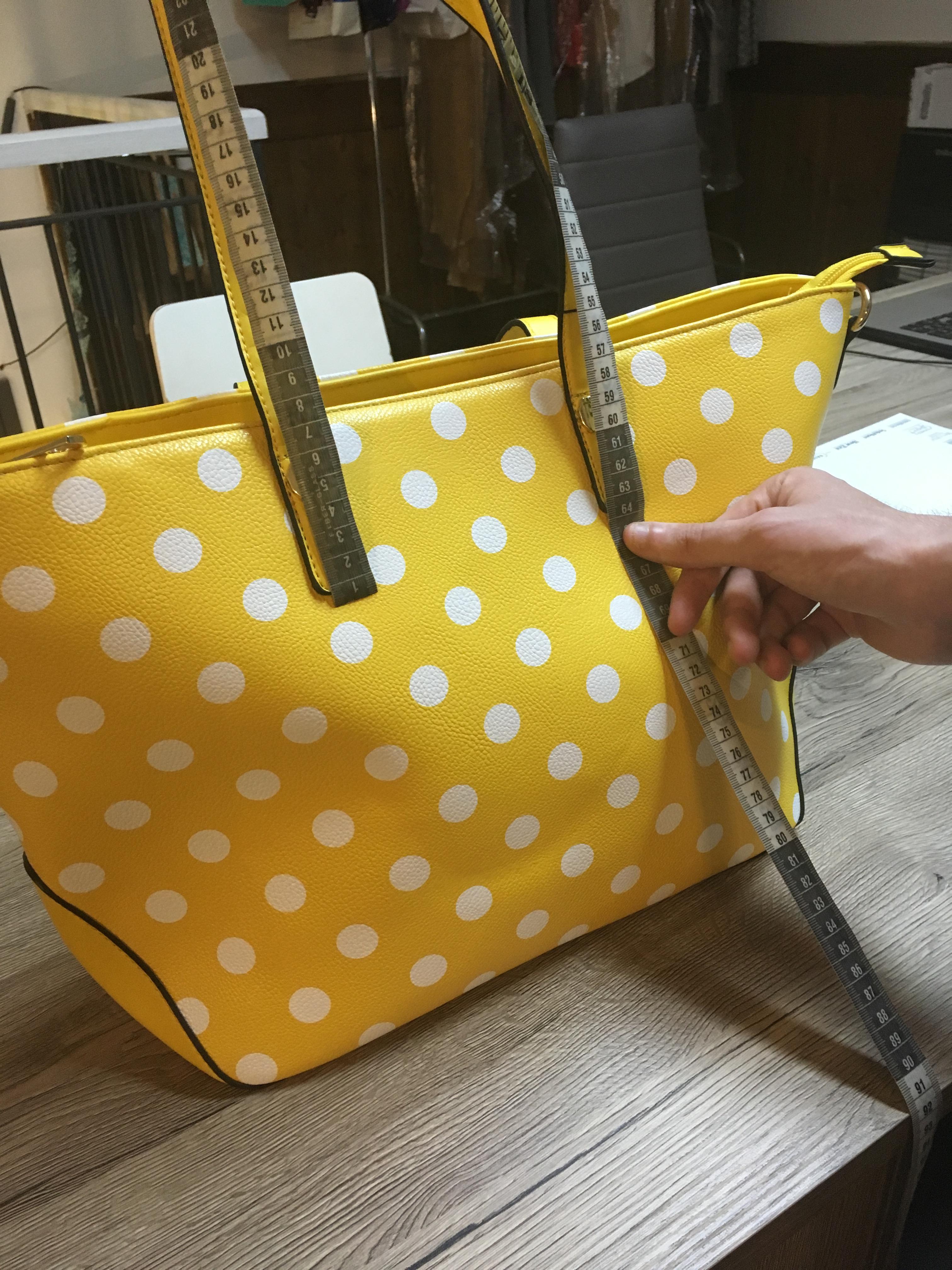 customized white label handbag