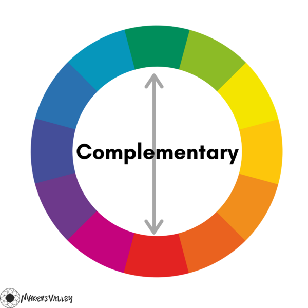 Complementary Colors on the Color Wheel | MakersValley