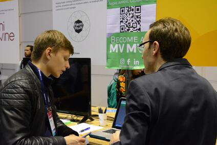 MakersValley connectedwith other startup entrepreneurs at Web Summit. | MakersValley Blog