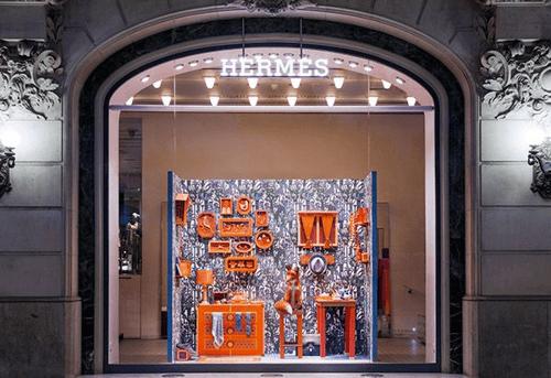 Hermes Window Display