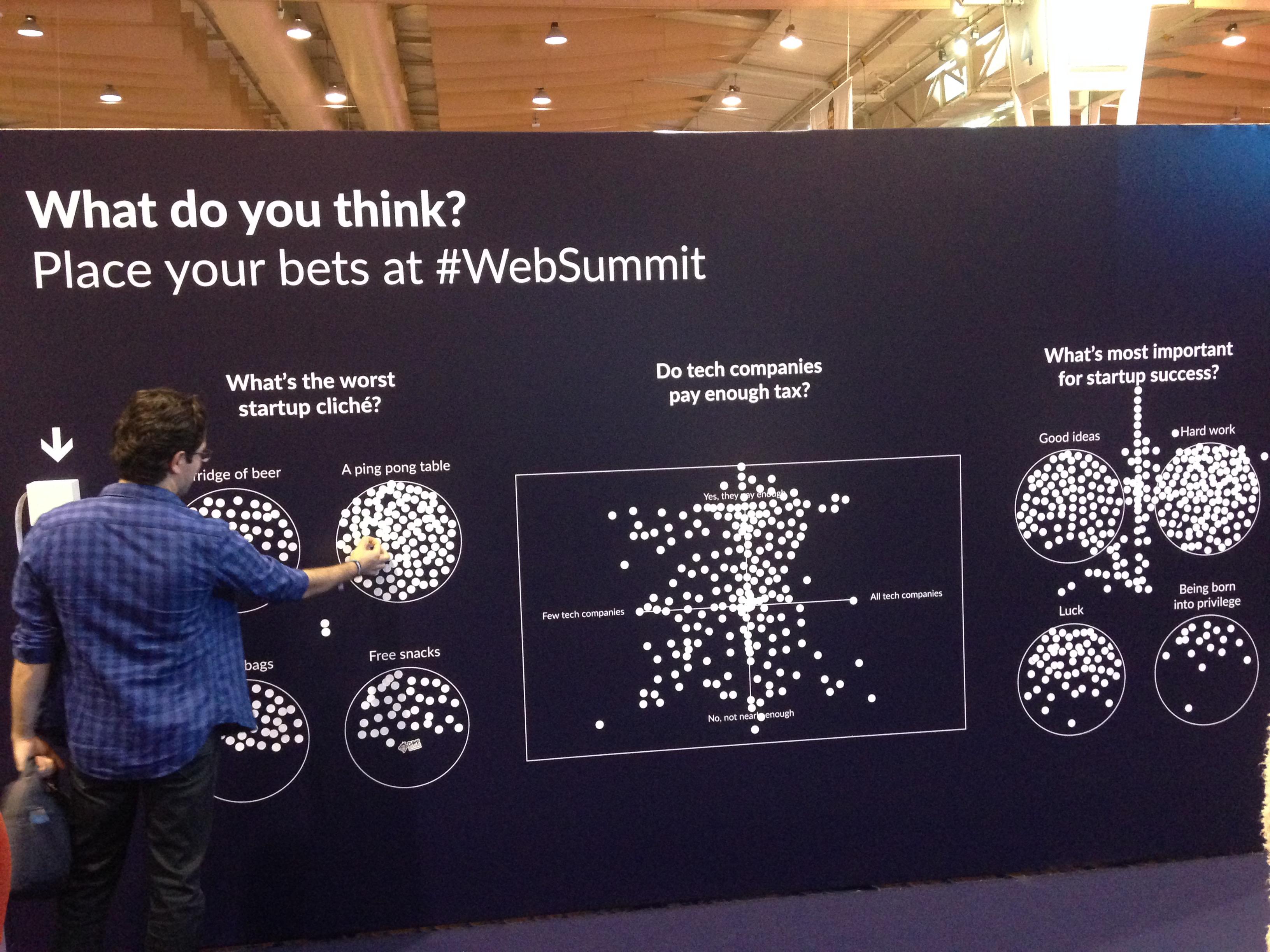 startups at Web Summit