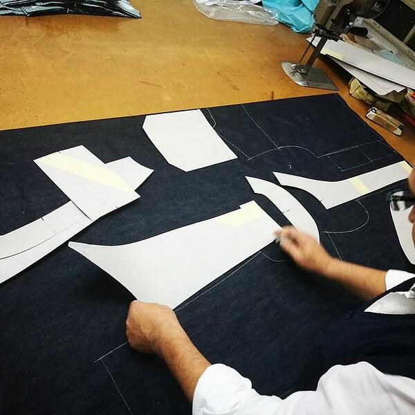 Nicole Zizi creates a jacket from recycled plastic using MakersValley.   MakersValley Blog