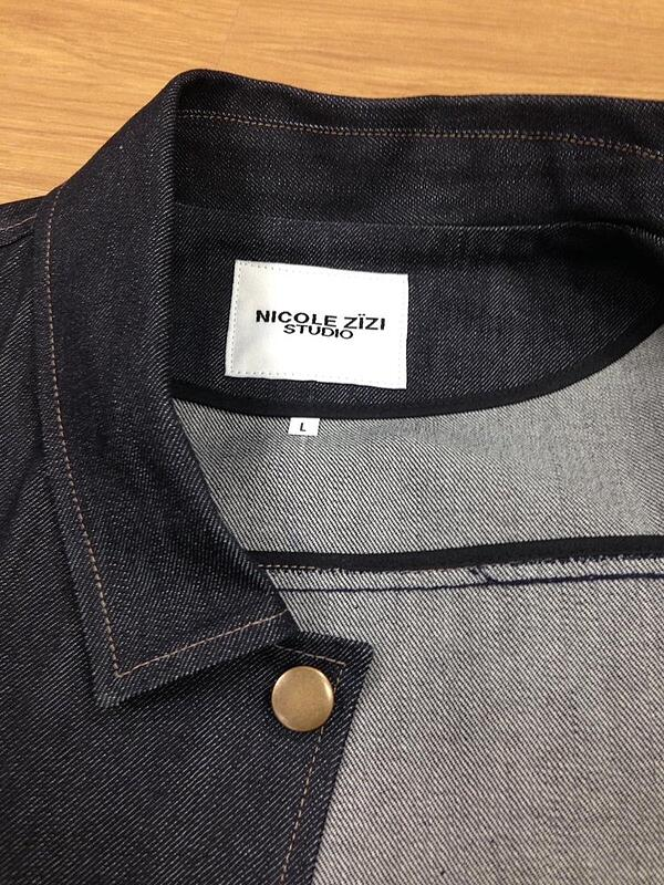Nicole Zizi created a fashionable, comfortable jacket from recycled plastic using MakersValley.   MakersValley Blog
