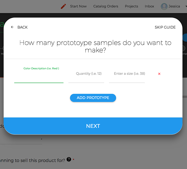 Decide how many product samples you want to make. | MakersValley Blog