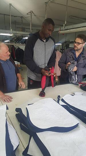 Work with a patternmaker and then start a MakersValley Bring to Life project for your clothing design.   MakersValley Blog