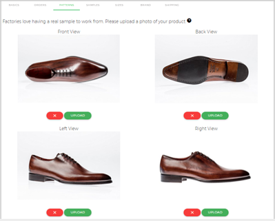 Add samples of your clothing products right into the MakersValley Platform. | MakersValley Blog