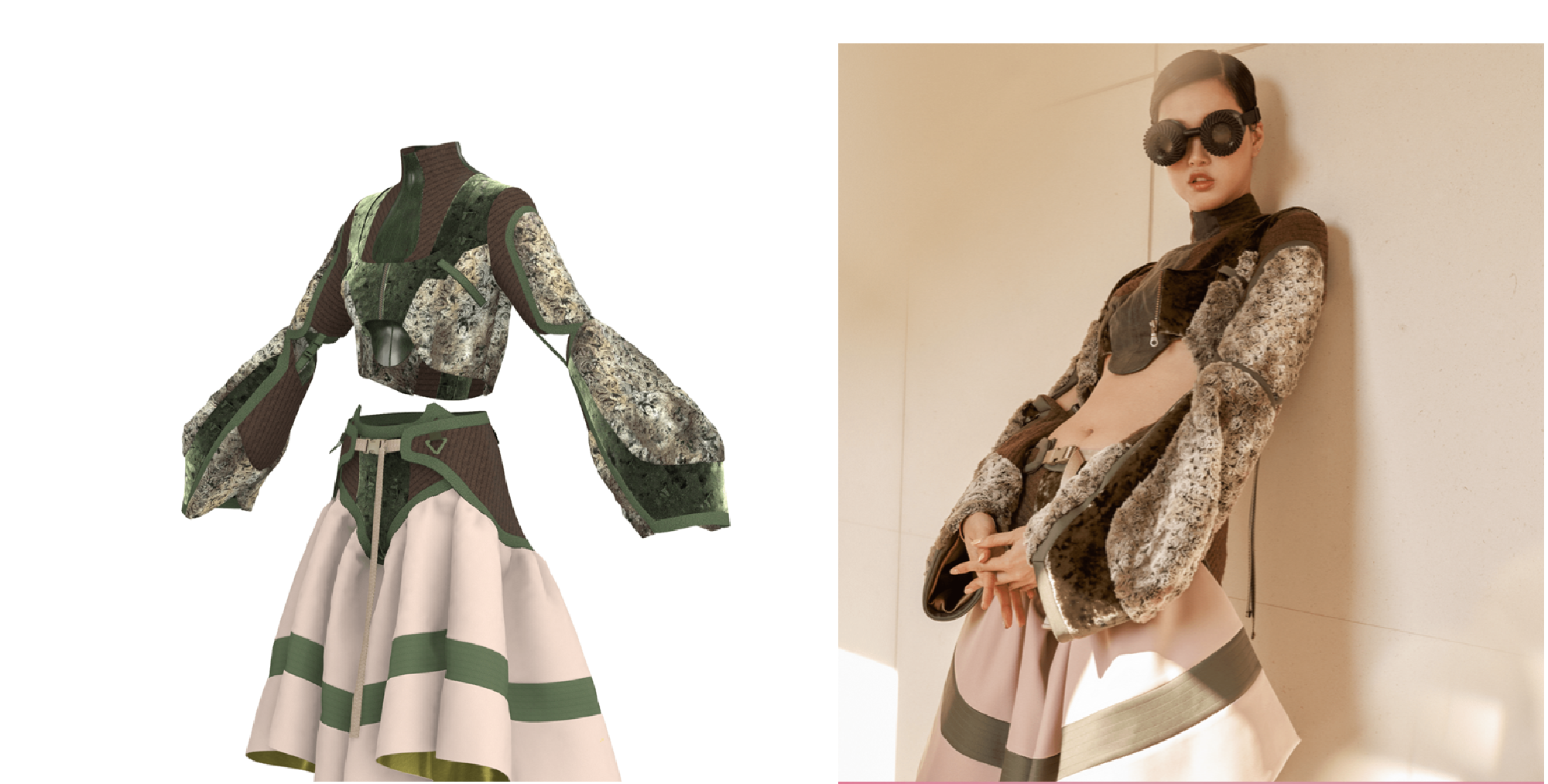3D clothing on avatar