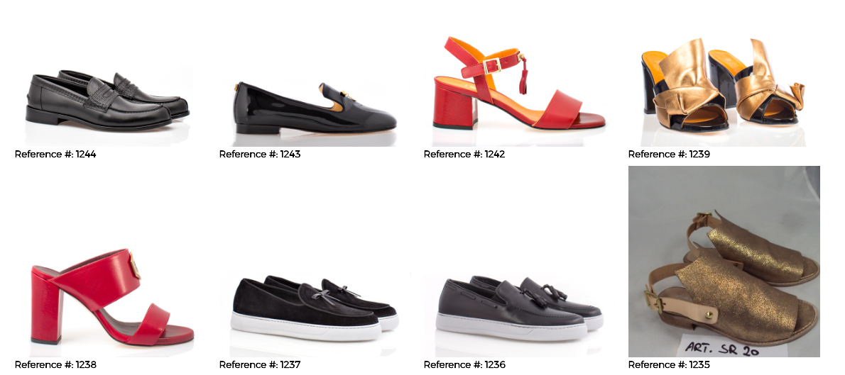 View the Shoes Catalog