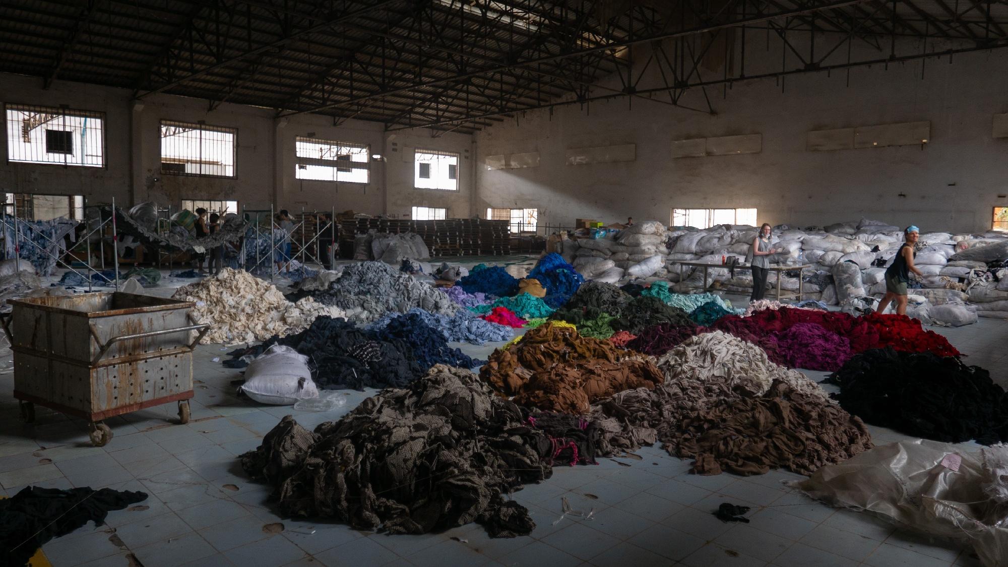 Shredded clothing