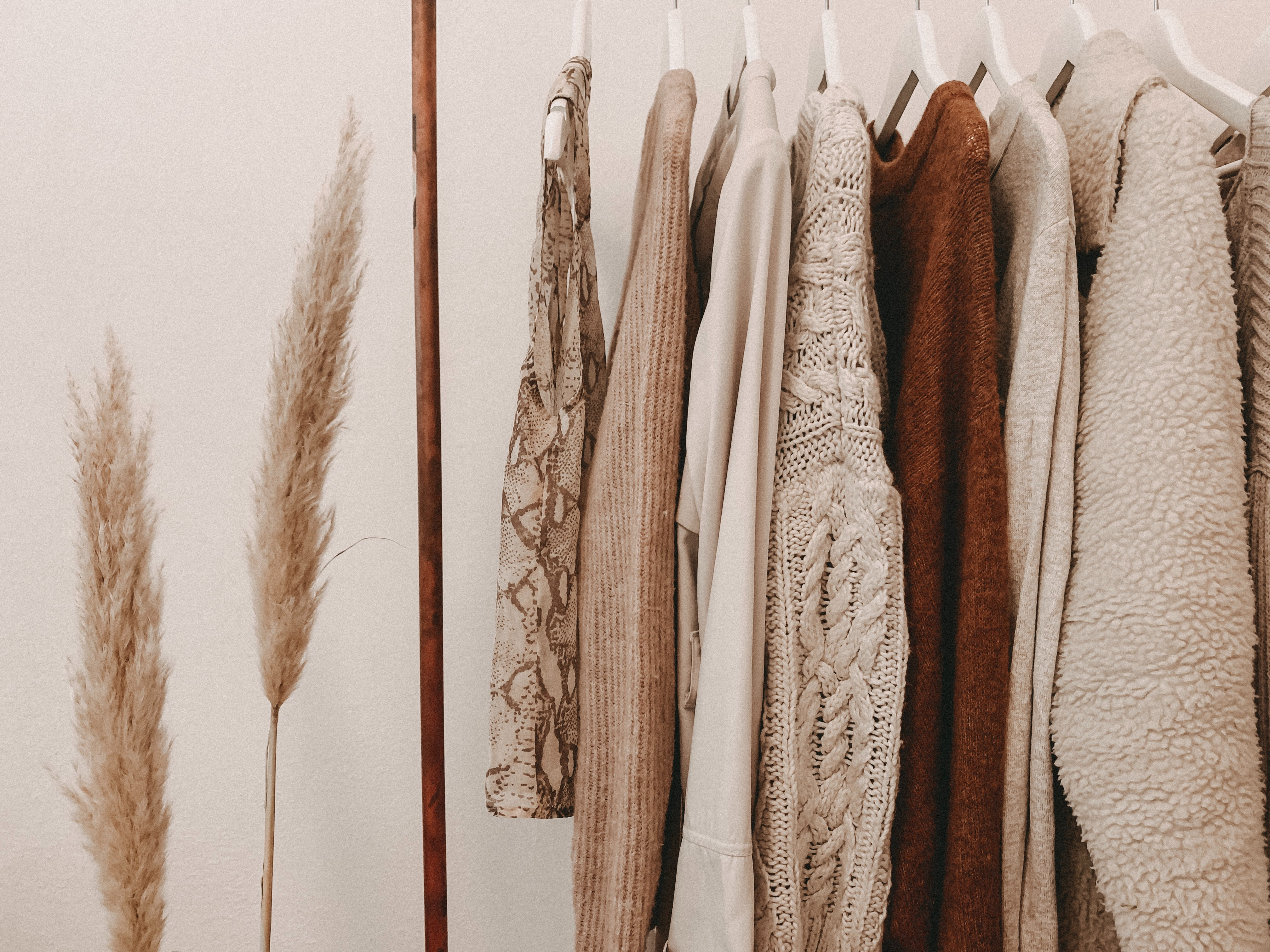 clothes made in fabric with texture