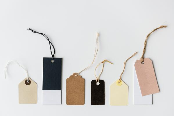 brand your clothing hang tags