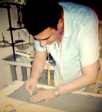 Italian artisan at work