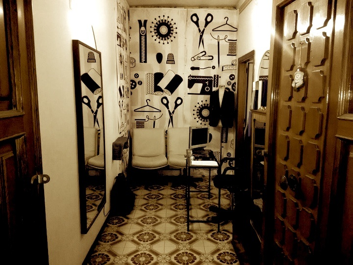 Italian artisan workshop