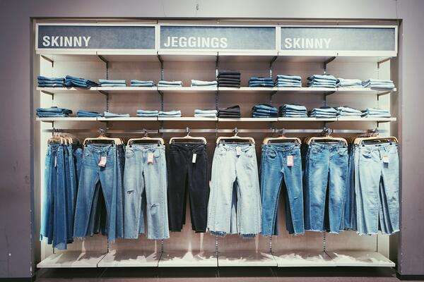 Renew or recycle old denim for your clothing line