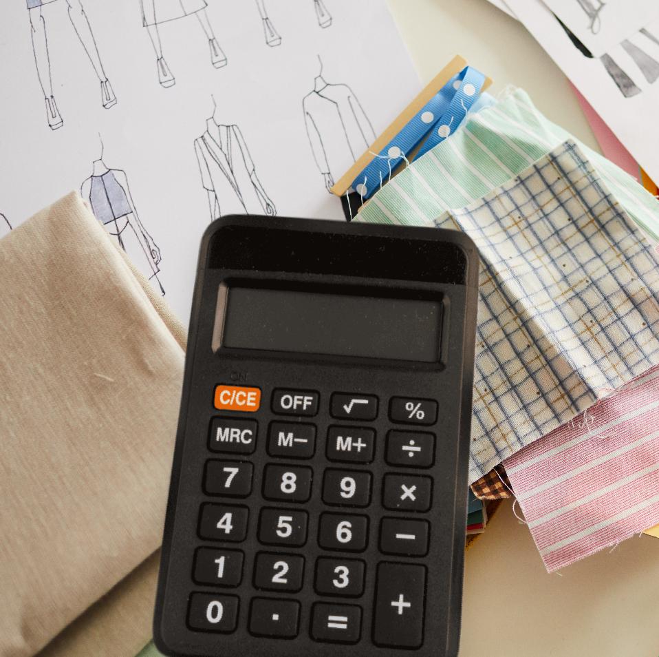 Calculator-Fabric