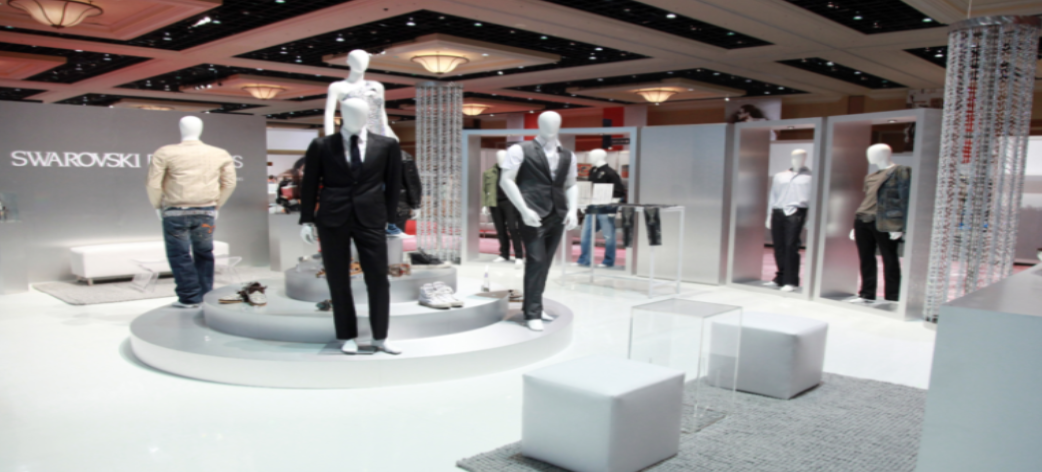fashion trade show floor