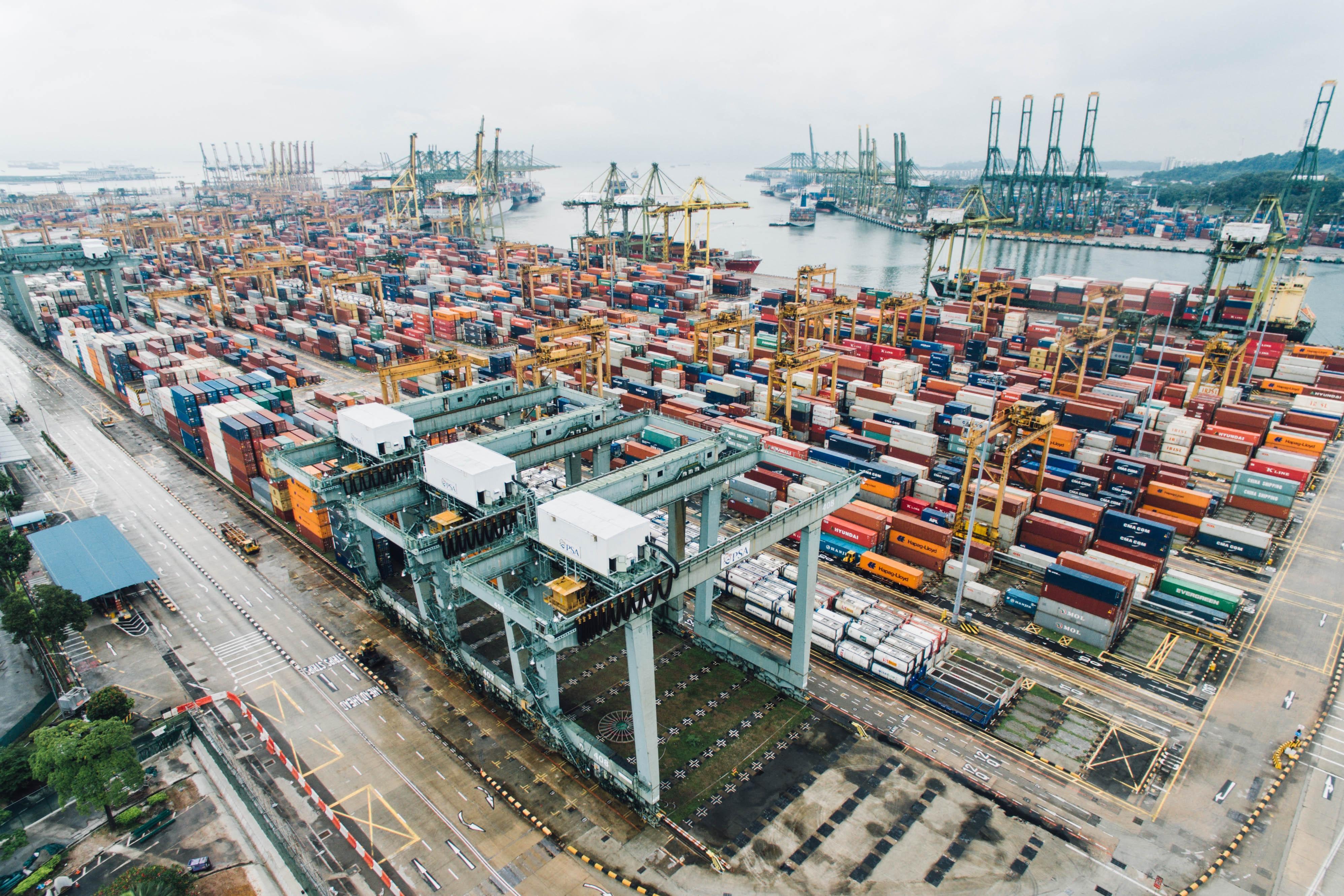 Cargo Ship Yard