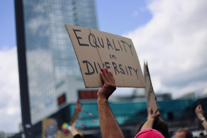 equality and diversity sign